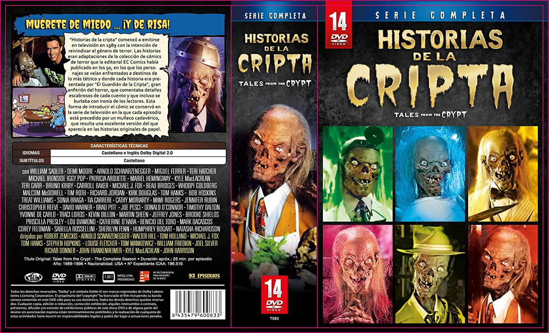 Historias de la cripta - Serie Completa [DVD]: Amazon es