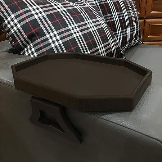 Amazon.com: Sofá reposabrazos mesa con clip, sillón ...