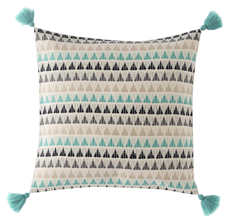 Multi Shiraleah Biscayne Geo Pillow