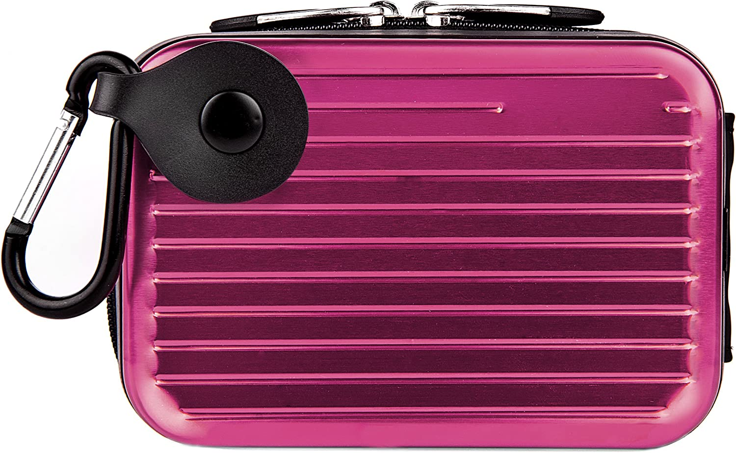 Vangoddy Pascal Mettalic Metal Case for Canon PowerShot SX610 HS Digital Cameras and Screen Protector Purple