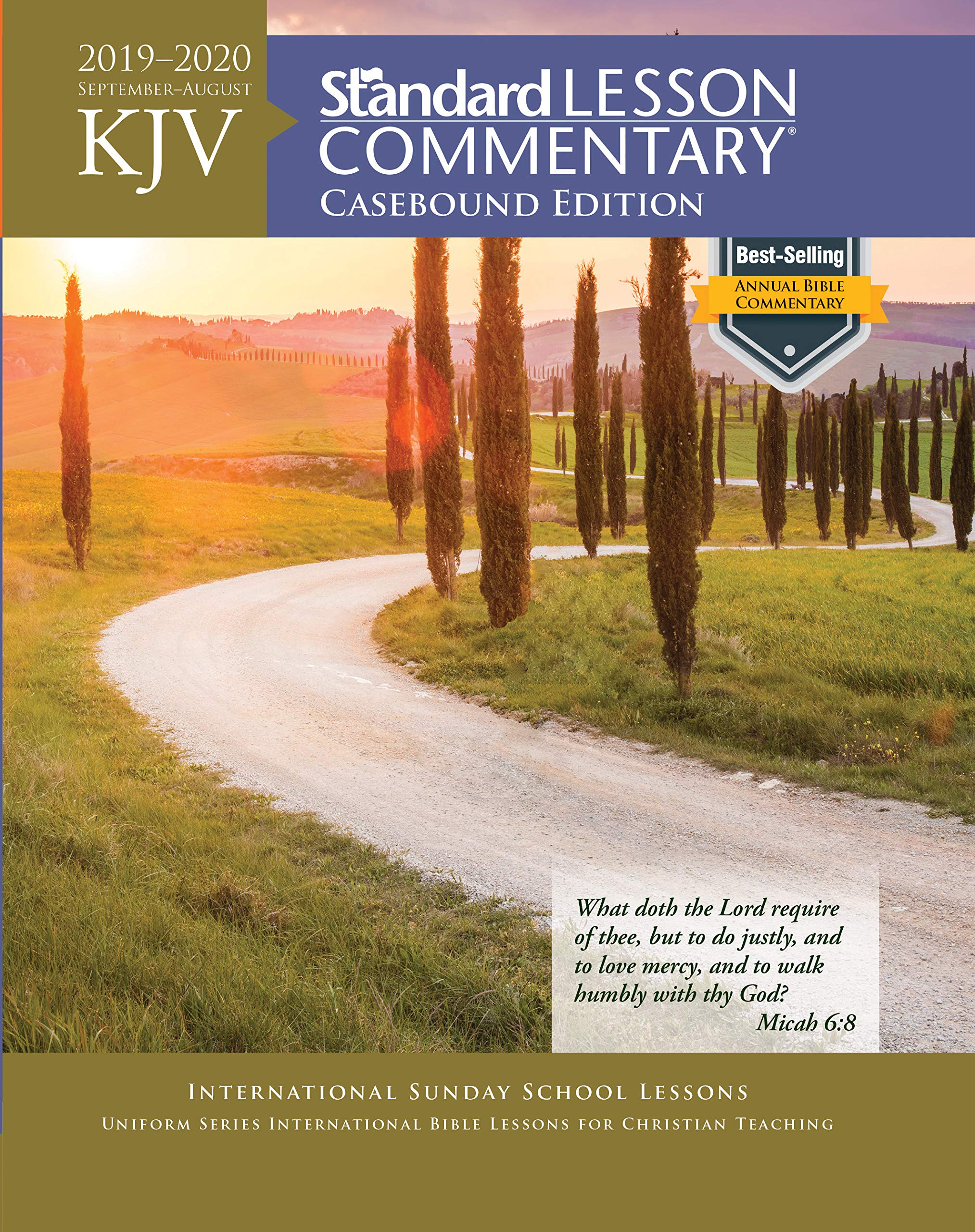 KJV Standard Lesson Commentary® Casebound Edition 2019-2020 by David C Cook