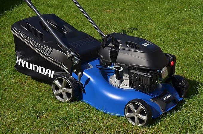 Hyundai Cortacésped de gasolina lm4201g (ancho de 42 cm ...