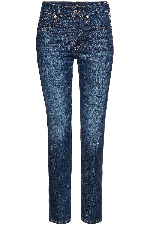 FIND Women's Boyfriend Mid Rise Jeans AZW 8008