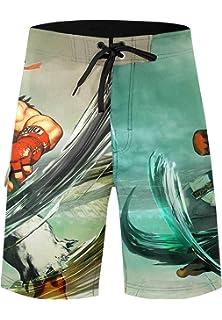 fc001ac395b84 Musterbrand Star Wars Knit Scarf Rebel Triangle Shawl Orange. £33.00 ·  Musterbrand Street Fighter Board Shorts Men Ryu Quick Dry Beach Swim Wear  Green