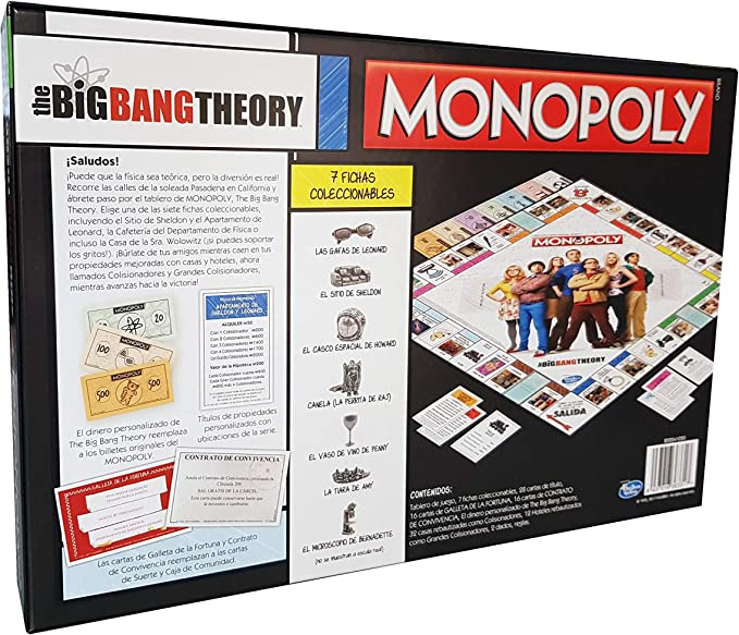 Monopoly The Big Bang Theory (Edición en Castellano): Amazon.es: Juguetes y juegos