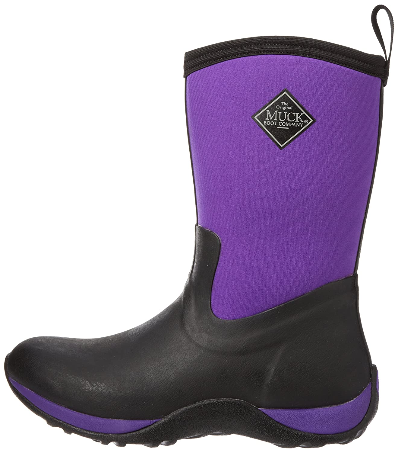 Muck Boot Company Women's Arctic Weekend Boot B00BN61CLG 10 B(M) US|Black/Purple