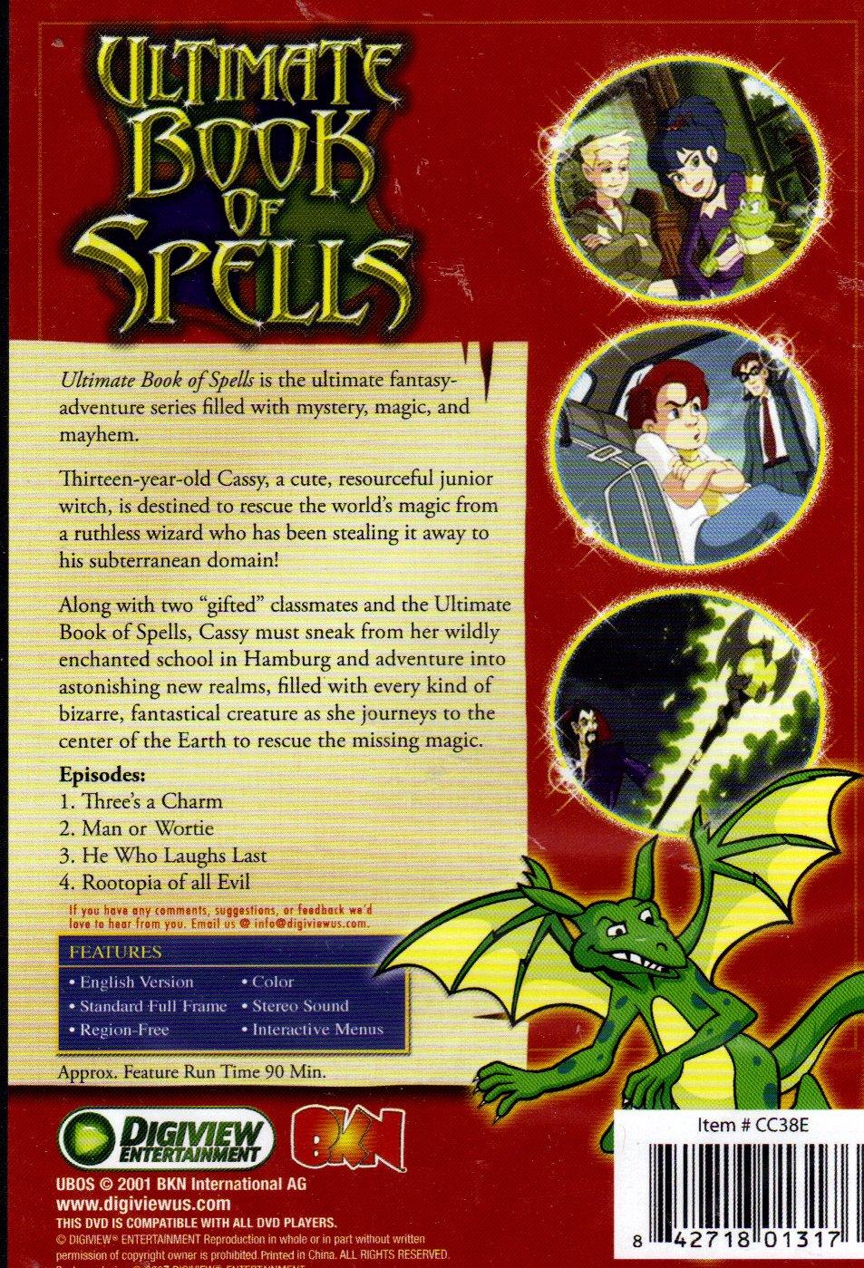 Amazon com: Ultimate Book of Spells (3 DVDs - 12 Episodes)