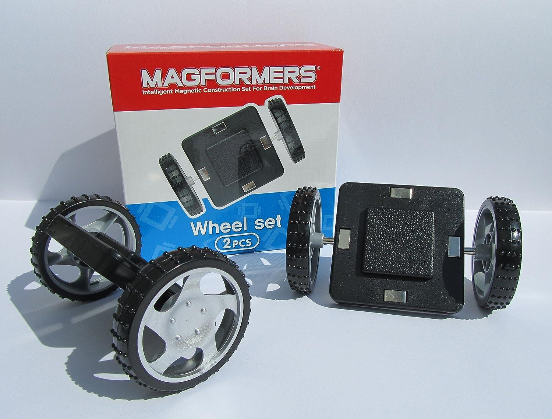 "Original Magformers Magnet Geos /& 2 x Räder 64 Teile /""Top Qualität/""  °274-09"