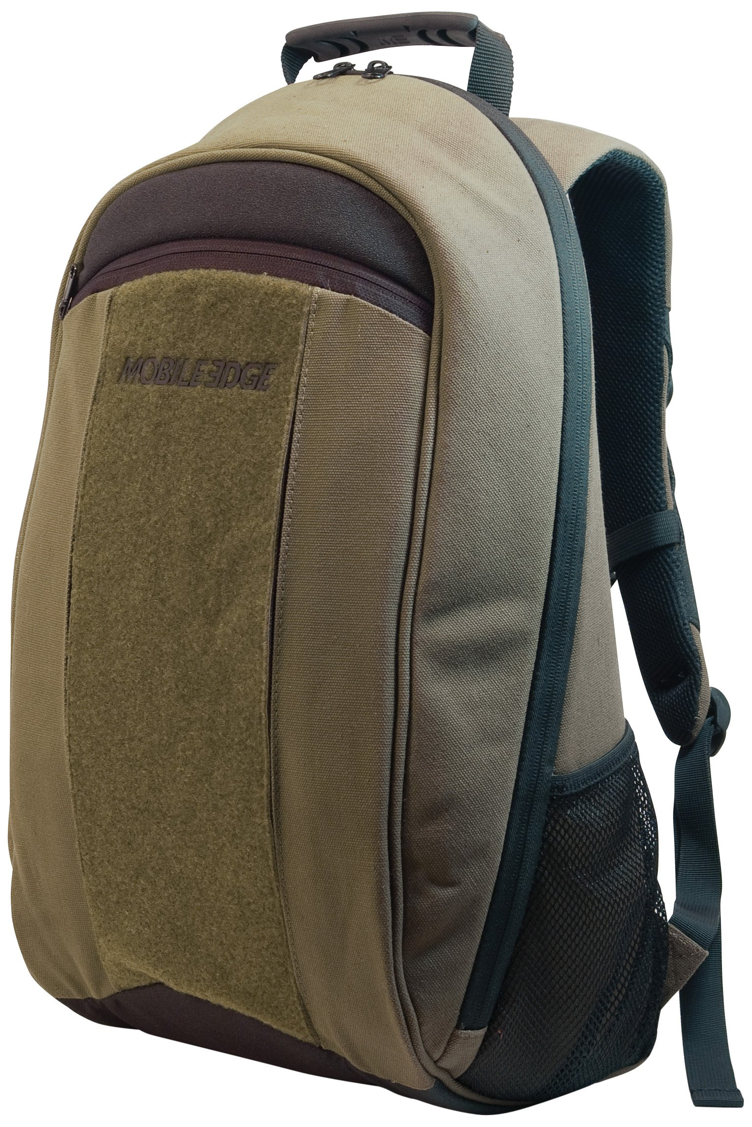 Mobile Edge Olive Green 17.3 Inch Laptop, Mac, Eco-Friendly Backpack, Cotton Canvas, for Men, Women Business, Students MECBP9