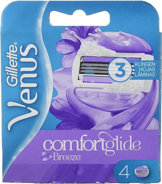 Venus ComfortGlide Breeze Recambio De Maquinilla 2-en-1, 4 Uds ...