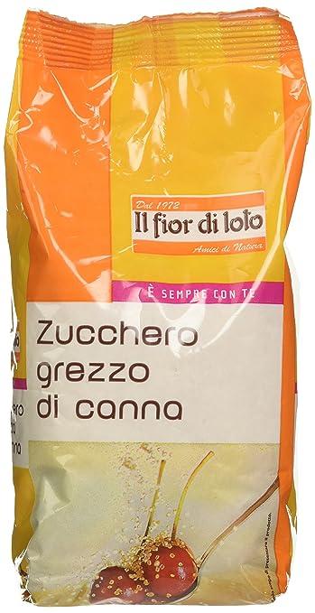 2 opinioni per Fior di Loto Zucchero di Canna Grezzo- 500 gr