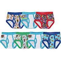 Nickelodeon Handcraft Little Boys' Toddler Paw Patrol Brief, Pack of Seven - Multi