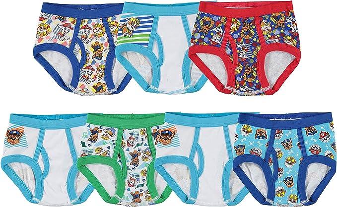 2 Sets of BOYS toddler 6 PAW PATROL Briefs 10 Pair Underwear Total