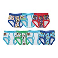Nickelodeon Handcraft Little Boys' Toddler Paw Patrol  Brief (Pack of 7)