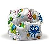 Beau & Belle Littles Reusable Baby Swim Diapers, Sea Creatures