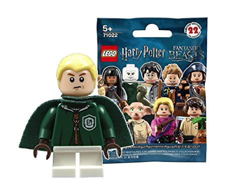 LEGO Minifigures Draco Malfoy Harry Potter Fantastic Beasts 71022 New Complete