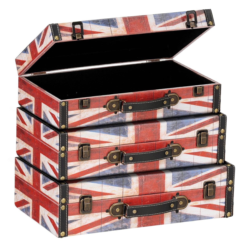 Premier Housewares Britannia Lot de 3 boîtes de rangement