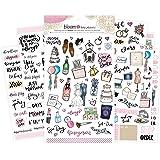 Bloom Daily Planners Wedding Planning Sticker Sheets - Wedding Sticker Pack - Over 250 Stickers Per Pack!