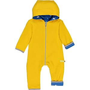GOTS Zertifiziert Footies proud Baby Overall in Melange Strick Aus Bio Baumwolle loud