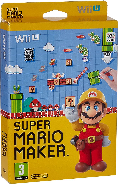 Nintendo Super Mario Maker, Wii U vídeo - Juego (Wii U, Wii U, Desplazamiento, E (para todos), Soporte físico): Amazon.es: Videojuegos