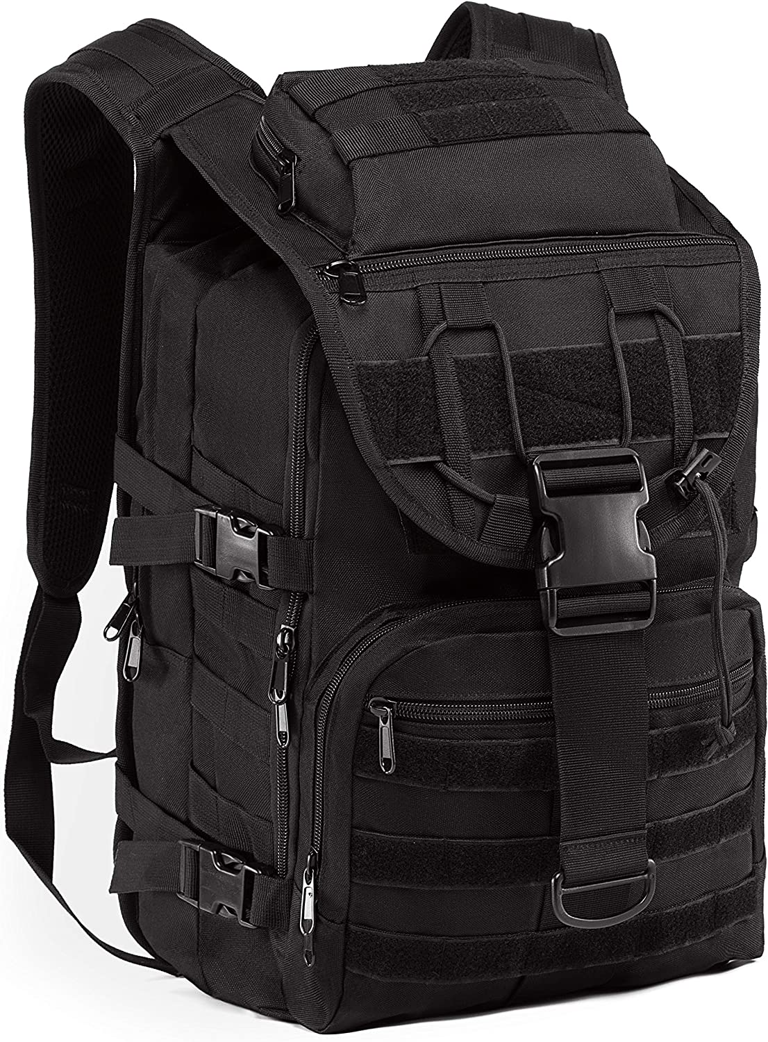 Supersun Tactical Military Backpack Molle - 35L Tactical Backpack Laptop Rucksack Survival Bag Bugout Assault Pack
