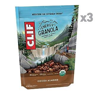CLIF BAR Organic Gluten Free Granola - Cocoa Almond - (10 Ounce Bag, 3 Count)