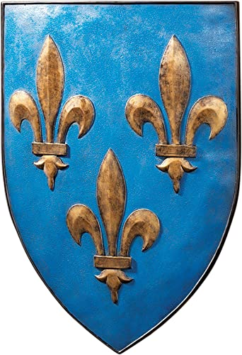 Design Toscano Grand Arms of France Wall Shield Collection