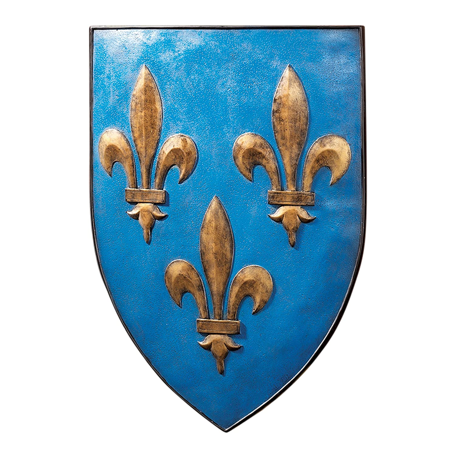 Design Toscano Grand Arms of France Wall Shield Collection- Fleur-De-Lis Shield CL47023-Parent