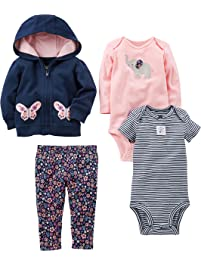 Simple Joys by Carter s Baby Girls  4-Piece Jacket 99a5805ed