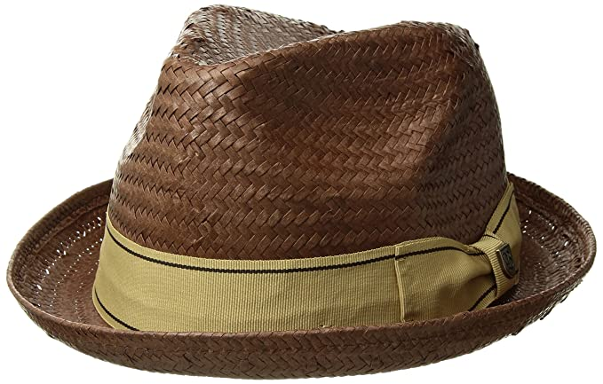 69d3d1933a9 Amazon.com  Brixton Men s Castor Fedora  Clothing
