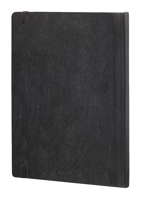 240 Pagine Copertina Morbida e Chiusura ad Elastico Colore Blu Ortensia Formato Large 13 x 21 cm Moleskine Classic Notebook Taccuino a Righe