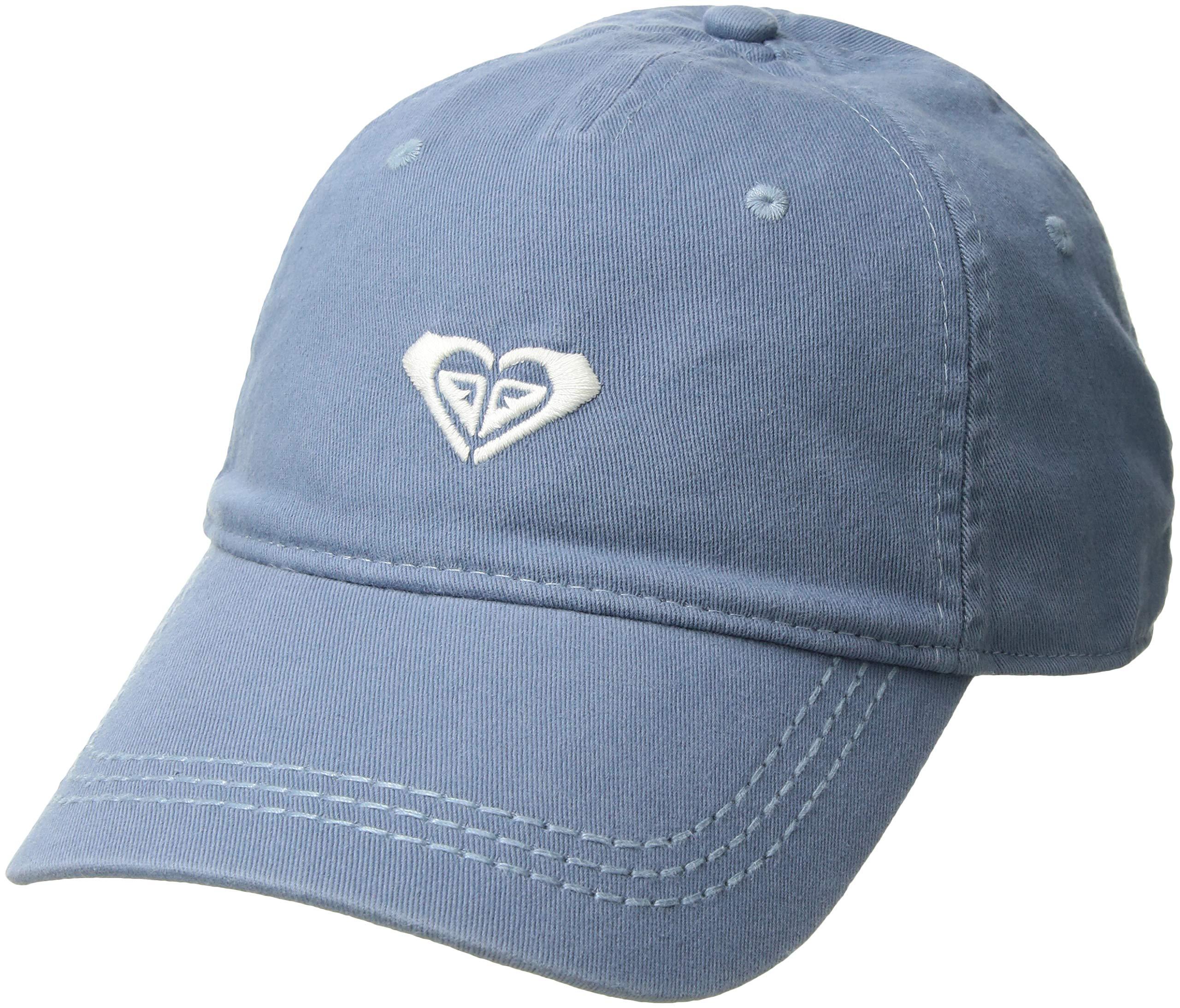 Roxy Junior's Dear Believer Baseball Cap, Ashley Blue, One Size