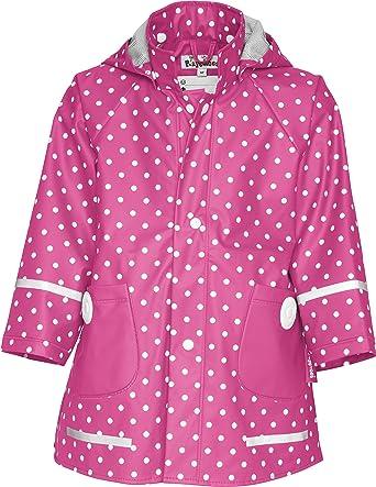 Kinder Playshoes Mädchen Mit RegenmantelRegenjacke 408566 PunktenPinkpink80 Regenmantel Ac3qL4Rj5