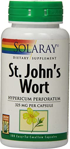Solaray St. John s Wort, 325 mg, 100 Count