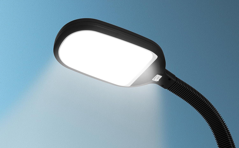 Kenley Stehlampe Leselampe 12W LED Dimmbar - Modern Deckenfluter ...