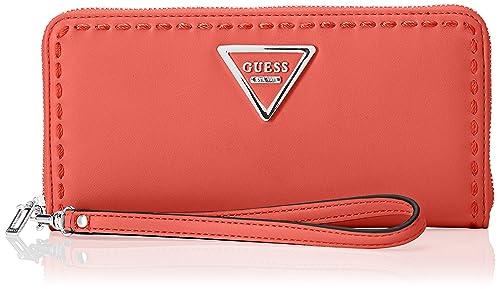Guess - Swvy6959460, Carteras Mujer, Rojo (Poppy), 2x10x21 ...