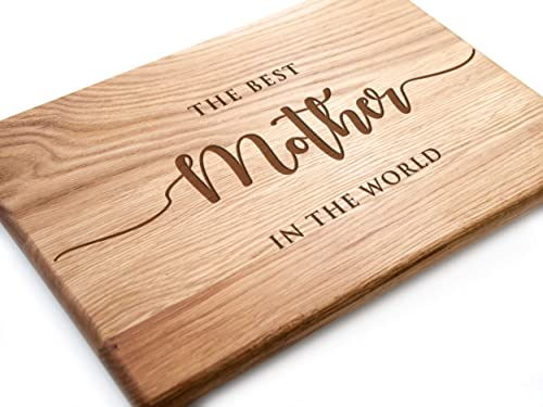 Amazon Com Custom Cutting Board Mom Kitchen Mother S Day Gift Ideas For Mom Best Mom Birthday Gifts For Mom Christmas Gift Personalized Cutting Boards Engraved Gift For Her Wooden Cutting Board Chopping Board