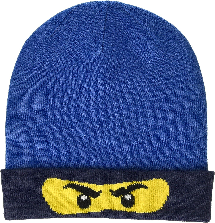 Dark Green 875 60 LEGO Wear Lego Ninjago Lwalfred 708-Strickm/ütze Cappellopello Verde Bambino Taglia Produttore: 54