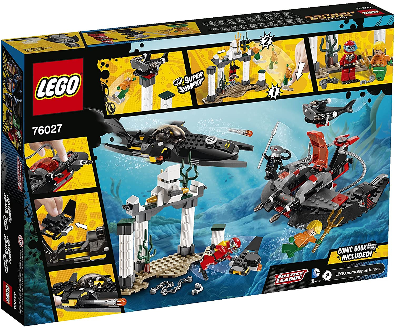 NEW LEGO BLACK MANTA FROM SET 76027 JUSTICE LEAGUE sh160