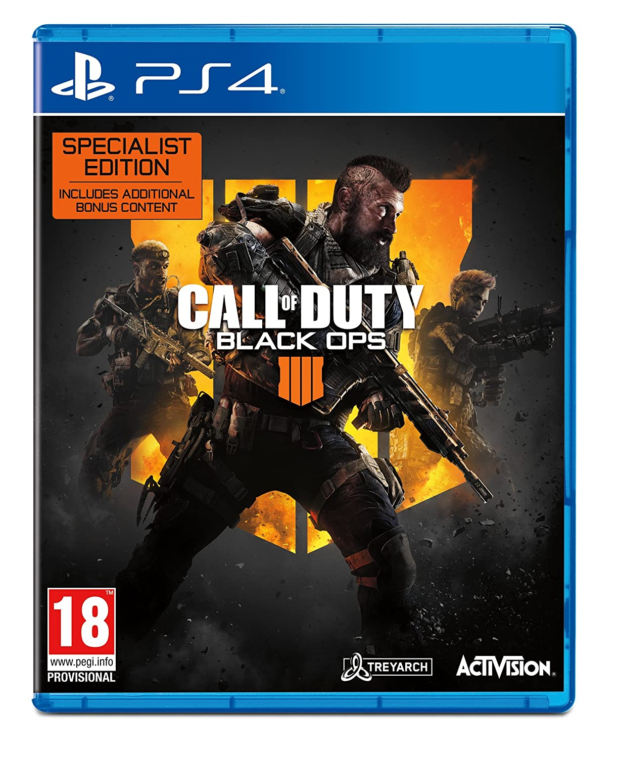 Call of Duty: Black Ops 4 - Specialist Edition (PS4)