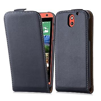 Cadorabo HTC Desire 610 Funda de Cuero Sintético Flip Liso ...