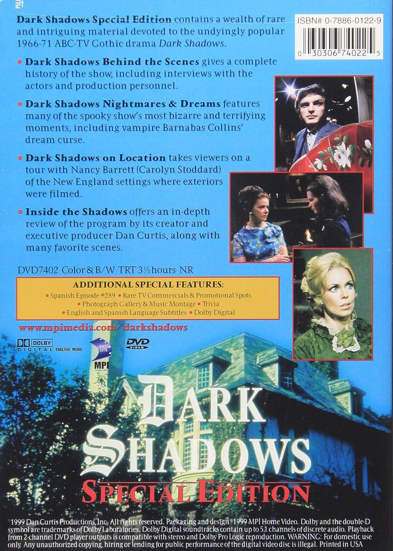 Amazon.com: Dark Shadows (Special Edition): Jonathan Frid, Kathryn ...