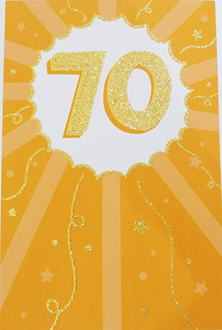 Amazon Happy 70th Birthday Greeting Card Youre Someone