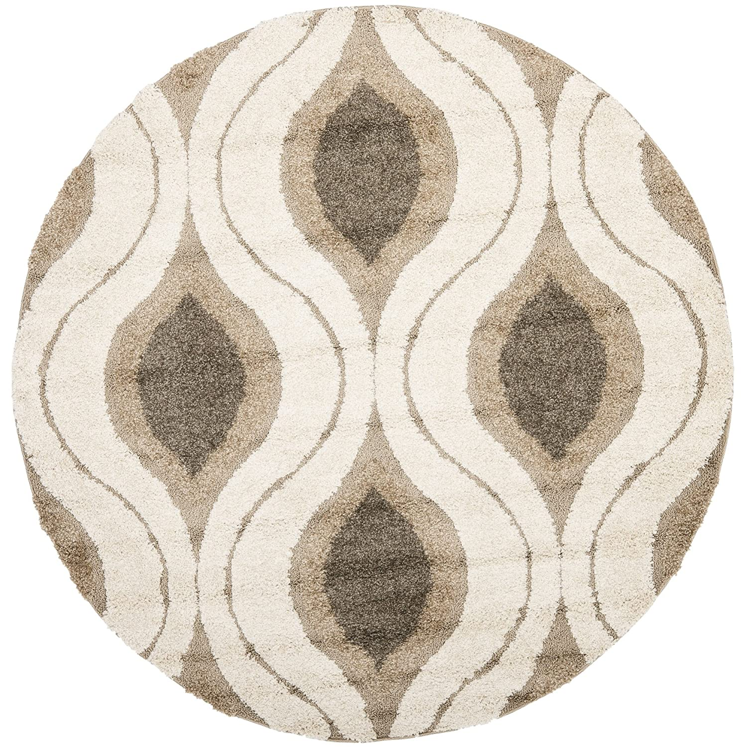 round ideas yellow rug area nuloom rugs