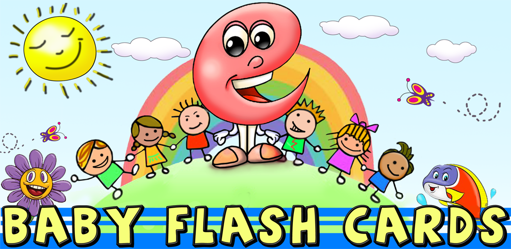 Baby Flash Cards Plus : Kids learn first words with sounds