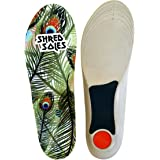 Shred Soles Full Length Skate Lite Impact Absorbing Comfortable Insoles