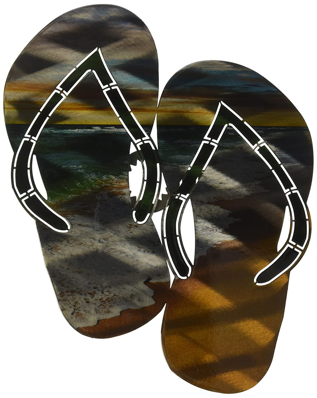 Steel Flip Flops Wall Art by Next Innovations