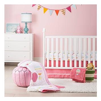 Amazoncom Circo Pc Crib Bedding Set Balloon Ride Baby - Circo comic bedding set