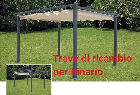 TRAVE RIC.X PERGOLA S/BINARIO MM.30X60X384CM.: Amazon.es: Jardín