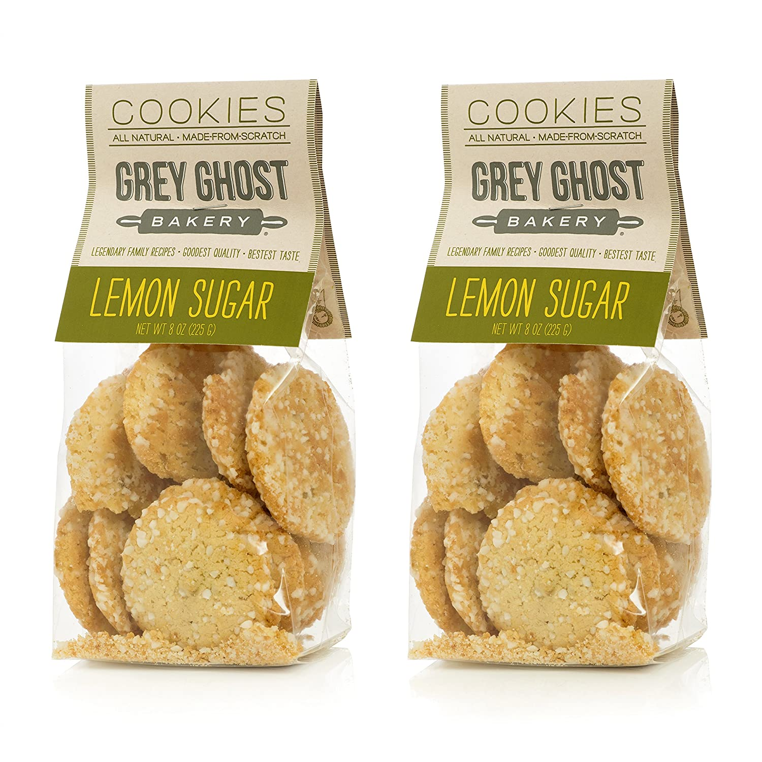 Amazon.com: Grey Ghost Bakery Molasses Spice Cookies